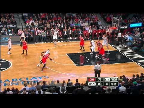 Brooklyn Nets Pull Away w/ 3 Straight Buckets vs Bulls