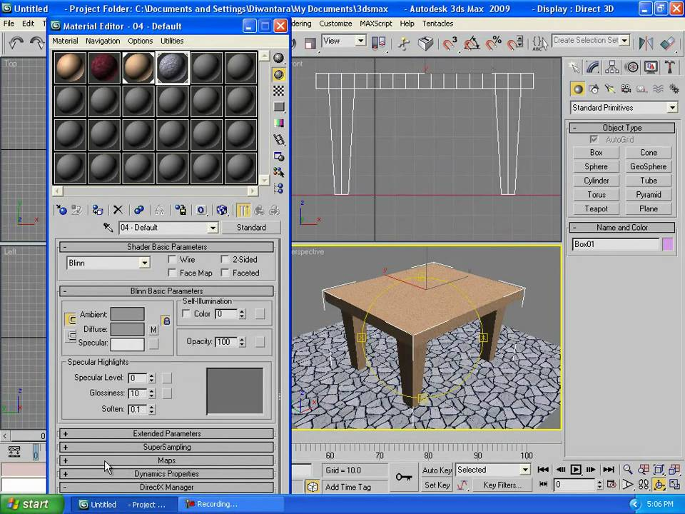 3ds max tutorials beginner 3 create simple table for 3ds max step by step tutorials for beginners
