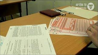 Выпускники школ преступили к сдачи единого госэкзамена