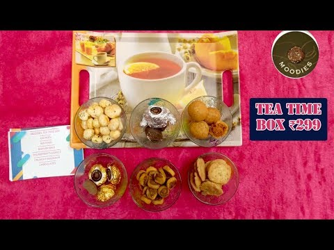 Moodies Tea Time Box @ ₹299 | Unboxing & Review | Handmade with Pure Ghee