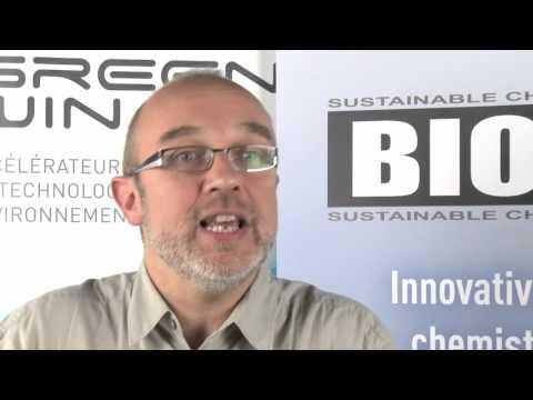 Chimie verte et Biotechnologie blanche - 2014 : Patrice Soumillion