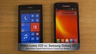 Nokia Lumia 520 Vs. Samsung Galaxy S2 Benchmark Speed