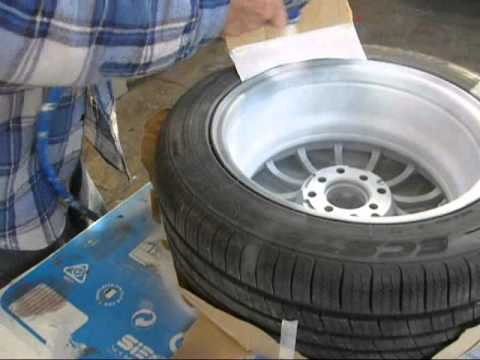 How to: Re-spray a wheel
