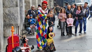 Top 10 Amazing Street Puppet Performers [NEW HD]