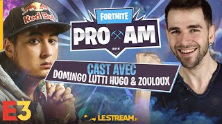 Gotaga vs Ninja - Fortnite Pro-Am tournament cast par Domingo, Zouloux, Lutti, Jiraya et Xari