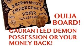 Deliverance From Ouija Board Demons