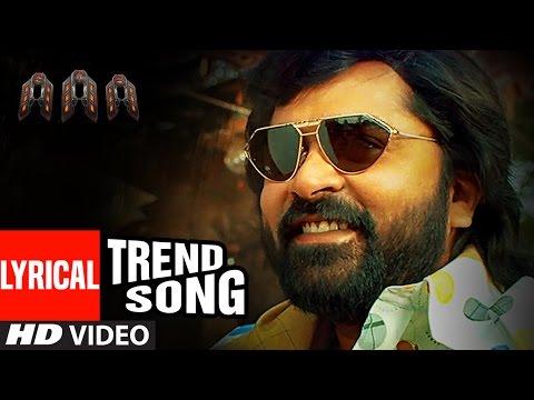 Trend Song From AAA STR Shriya Saran Tamannaah Yuvan Shankar Raja Adhik Ravichandran