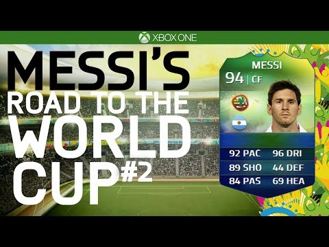 FALCAO IN FREE PACK! | MESSI'S RTWC #2 - KNOCKOUT STAGES! (FIFA 14 WC)
