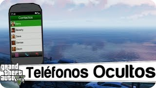 GTA V : 10 Teléfonos Ocultos