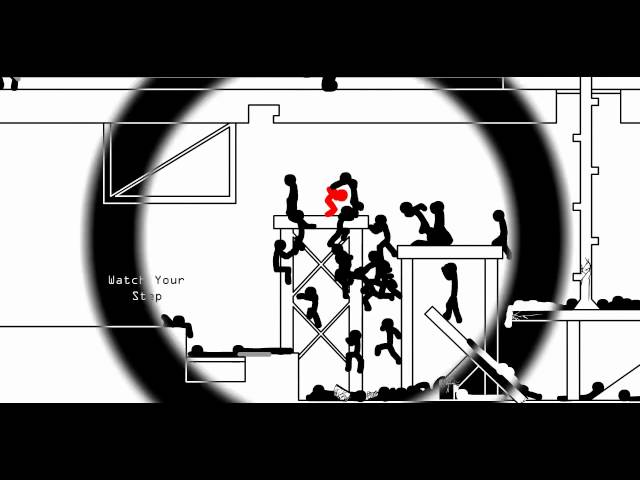 Shock (HD) - Full Stick Fight - Flash Animation