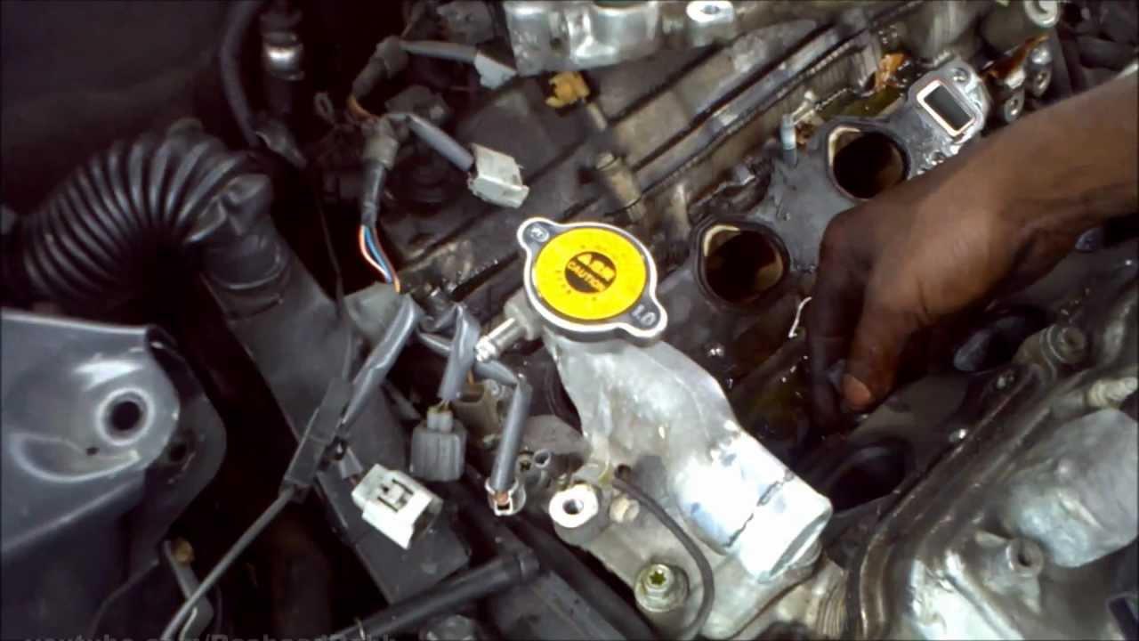 2000 Lexus Es300 Knock Sensor Location Amp Repair Youtube