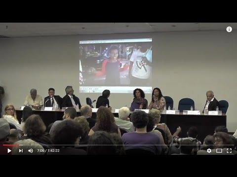 O governo (interino) Temer e os rumos da democracia  foram o centro do debate que reuniu parlamentares e professores na Casa da Ciência da UFRJ – com auditório lotado.