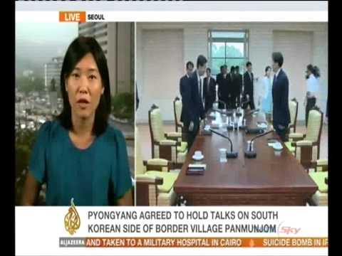 North and South Korea hold talks on family reunions