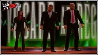 WWE 2K14 The Authority Entrance!