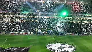 Juventus Fans Singing Their Himno Anthem Vs Atletico Madrid