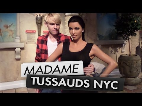 Wax Museum: One Direction, Kim Kardashian, Justin Bieber | Madame Tussauds NYC