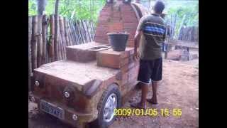 Construindo um fogão a lenha