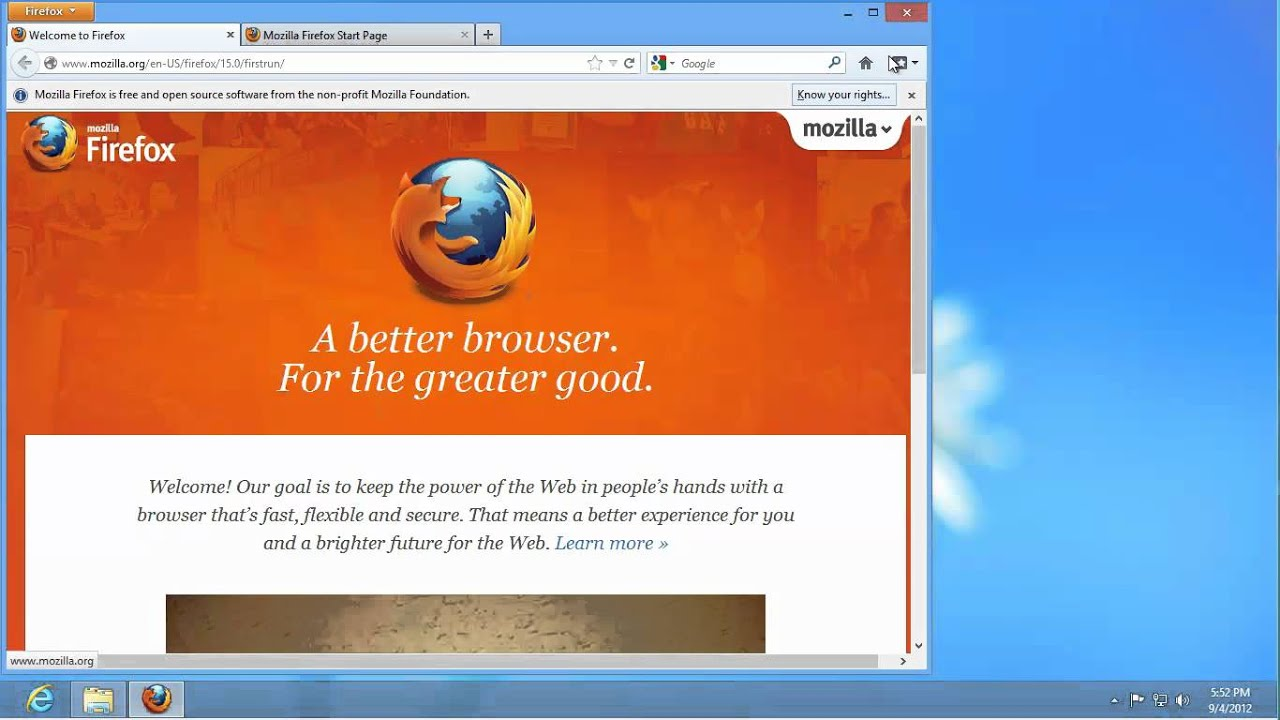 Mozilla Firefox Old Version Download for Windows 7