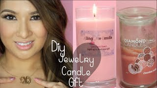 How To Make Soy Candles| Diamond Candle Inspired| Monogram