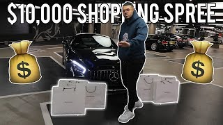 $10,000 LUXURY SHOPPING SPREE... AGAIN!!! (INSANE)