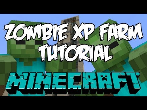 Minecraft Zombie XP Farm Tutorial HD - The Tower