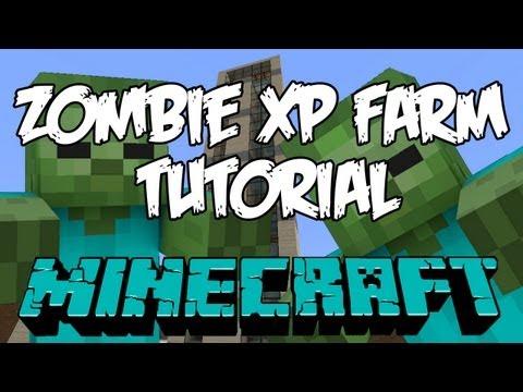 Minecraft Zombie XP Farm Tutorial HD - The Tower