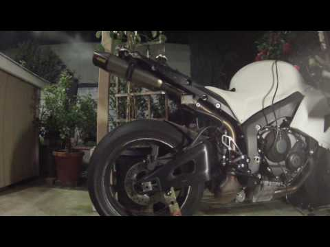 2009 Honda CBR 600RR Akrapovic Slip On Exhaust