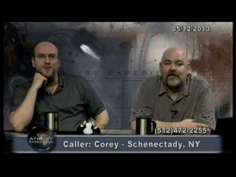 COREY: The Infallible CREATIONIST - The Atheist Experience