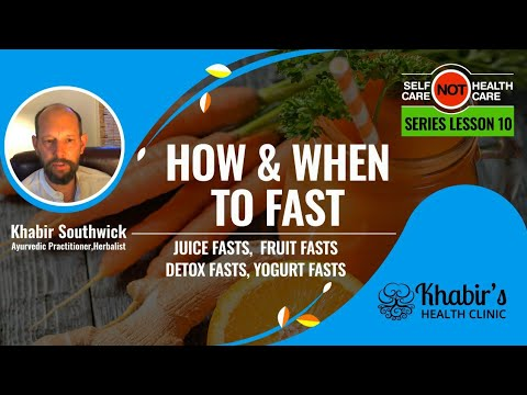 Reset your Digestion with Liquid only Fasting - #10 of Self-care Not Health-care Series