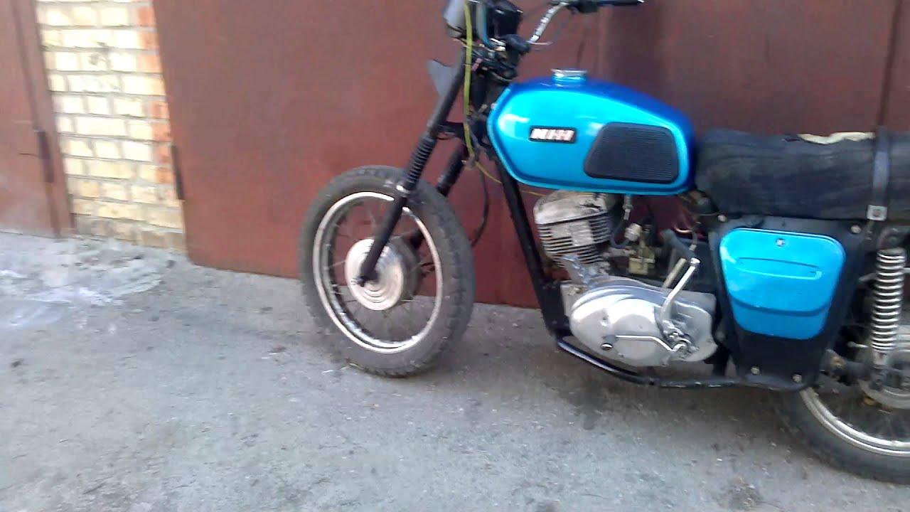 Покраска мотоцикла своими руками иж планета 82