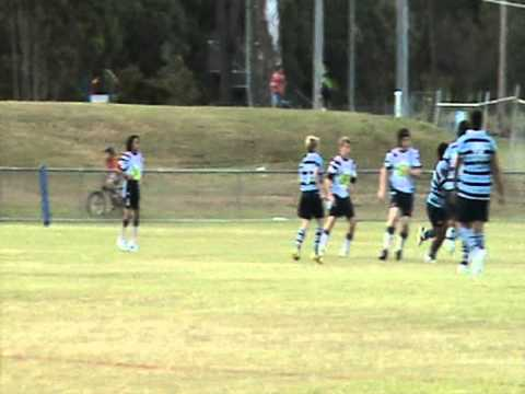 ORRLFC U13 vs Ormeau Shearers - Gold Coast 2011 (Vid 2)