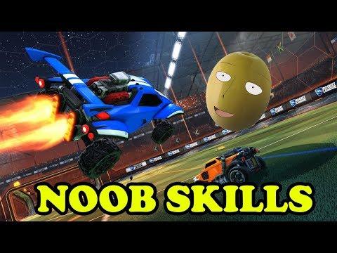 Noob skills - Rocket League