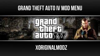 GTA IV Mod Menu PS3 [Script Mods]