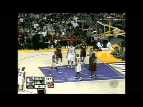 Kobe Bryant 42 pts vs Shaquille O'Neal 29 pts Full Highlights Heat vs Lakers (2004.12.25)