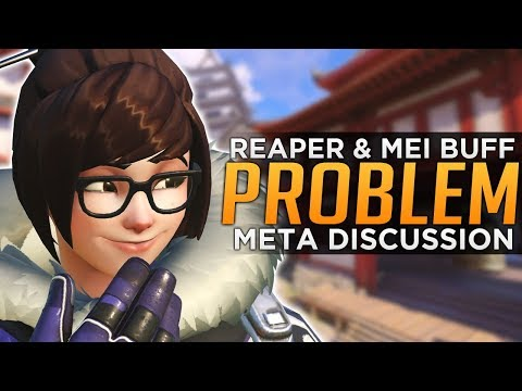 Overwatch: Reaper and Mei BUFF Problems - Meta Discussion
