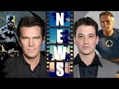 Josh Brolin as Batman vs Superman 2015, Miles Teller in Fantastic Four 2015?! - Beyond The Trailer, Hollywood floats some rumors about some major comic book movie casting! Will Josh Brolin be the new Batman in the World's Finest movie hitting theaters in 20...