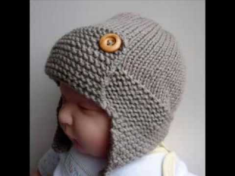 Free Knitting Pattern Baby Aviator Hat Very Simple Free Knitting