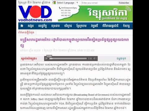 Cambodian Government Tried to Restrict Independent Media