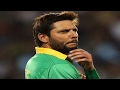 Shahid Afridi announces retirement from international cric..
