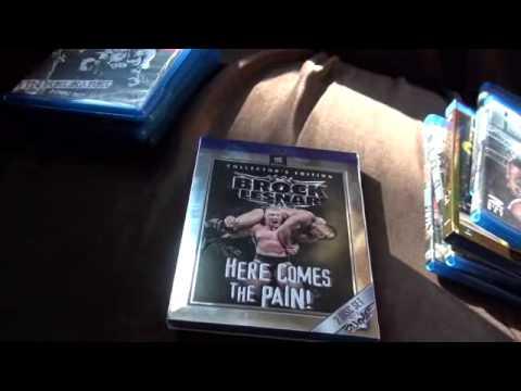 WWE Blu-Rays- WCW , ECW, King of the Ring, Top 50 Finishers, Brock, Rock, Austin, Edge