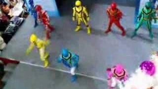 Power Rangers Mystic Force and Dino Thunder At LOT 1 Part 3