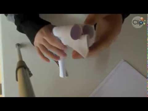 Cách Gấp súng ngắn bằng giấy