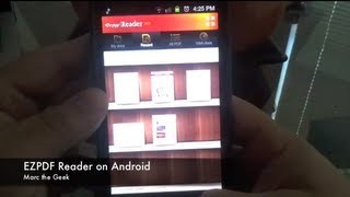 EZPDF Reader Pro On Android (Update See New Video Link