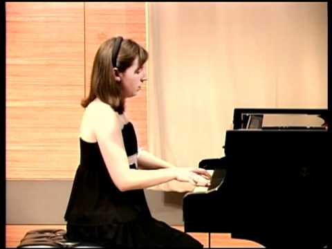 Beethoven Waldstein Sonata op. 53 Part 1 by Rachel Breen (12 year old)