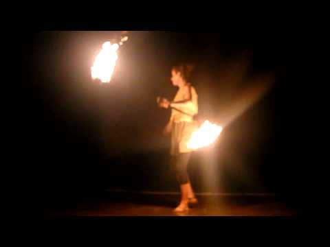 Fire Juggling , at Arambol Beach GOA