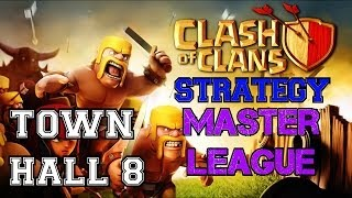 Clash Of Clans: Town Hall 8 Master League! Let's Review