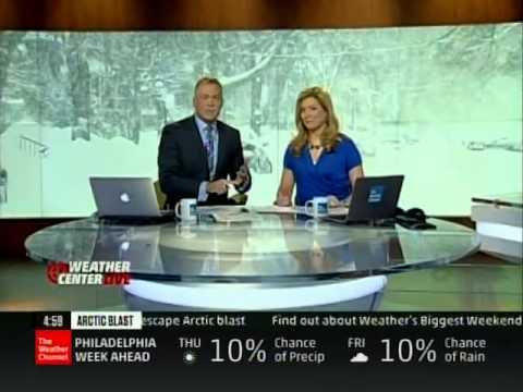 TWC - Winter Storm Leon Coverage - 5pm 1/28/14