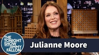 Julianne Moore Got an Accidental Love Text from Her Son
