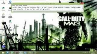 Comment Télécharger Call Of Duty Mw3 Pc Gratuit