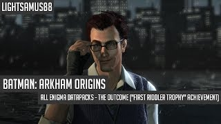 Batman Arkham Origins All Enigma Datapacks The Outcome